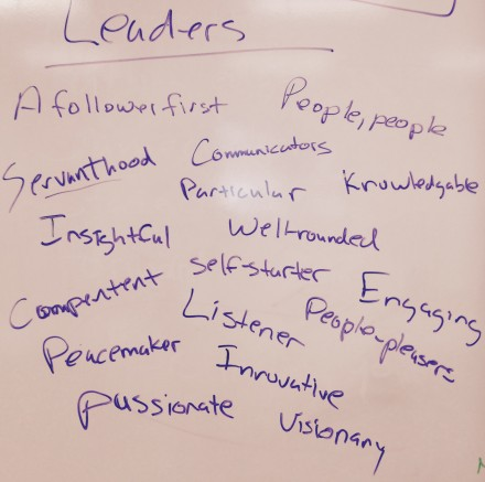 Comm leaders list